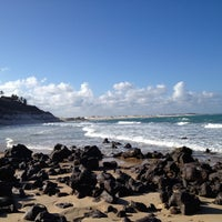 Photo taken at Ponta do Pirambu by Michele O. on 11/20/2012