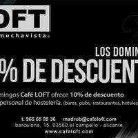 Photo taken at Loft by CAFE LOFT P. on 10/18/2012