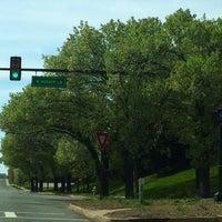 Photo taken at N. Quaker Ln. & Duke St. by Melinda S. on 4/18/2014
