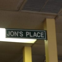 Photo taken at Jon's Place - Pizza Shop by Mike E. on 12/6/2012