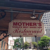 Photo taken at Mother's Restaurant by Ron F. on 5/21/2013