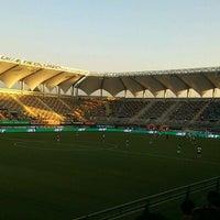 Photo taken at Estadio Bicentenario de La Florida by RODRIGO T. on 11/20/2012