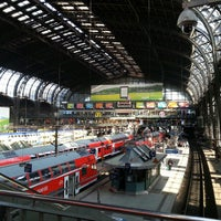 Photo taken at Hamburg Central Station by Frank D. on 6/8/2013