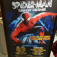 Photo taken at Spider-Man: Turn Off The Dark at the Foxwoods Theatre by Umang on 3/3/2013