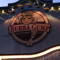 Photo taken at Bubba Gump Shrimp Co by Devin T. on 5/19/2013