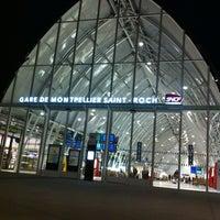 Photo taken at Gare SNCF de Montpellier Saint-Roch by marilor on 7/2/2013