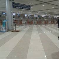 Photo taken at Terminal F (KBP) by Виктория В. on 2/20/2013