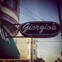 Photo taken at Giorgio's Pizzeria by Zak K. on 1/19/2013