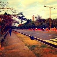 Photo taken at Parque Mirador Sur by Alberto B. on 4/7/2013