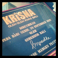 Photo taken at Krisna Sunset Road (Krisna 3) by Shony S. on 12/22/2012