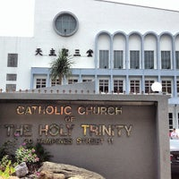 Photo taken at Catholic Church of the Holy Trinity by Aldrin M. on 3/29/2013