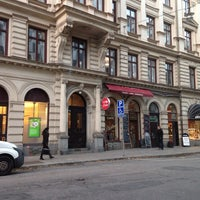 Photo taken at Café Pärlan by Natasha on 10/24/2013