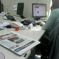 Photo taken at Medios Digitales Grupo Copesa by Constanza C. on 11/25/2012
