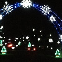 Photo taken at Tanglewood Festival of Lights by James R. on 11/29/2012