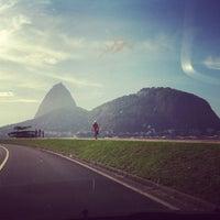 Photo taken at Enseada de Botafogo by Marcelo B. on 3/13/2013