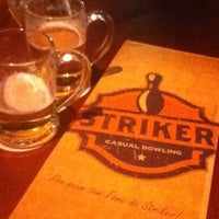 Photo taken at Striker Casual Bowling by Raphael F. on 12/9/2012
