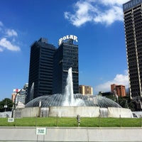 Photo taken at Plaza Venezuela by Ronald on 10/2/2012