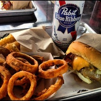 Photo taken at Grindhouse Killer Burgers by Chris F. on 4/2/2012