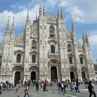 Photo taken at Milan Cathedral by Kayhan on 6/10/2013