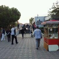 Photo taken at Yenibosna Metro İstasyonu by Ahmet Mert B. on 10/22/2012