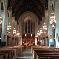 Photo taken at Fourth Presbyterian Church by Joni B. on 11/17/2012