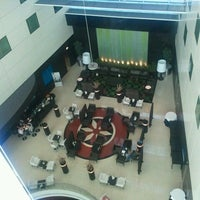 Photo taken at Sheraton Amsterdam Airport Hotel and Conference Center by Frederique N. on 6/7/2013
