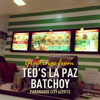 Photo taken at Ted's La Paz Batchoy by Dennis d. on 6/29/2013
