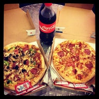 Photo taken at Domino's Pizza by Peter P. on 2/18/2014