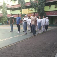 Photo taken at SMAN 58 Jakarta by sifa l. on 4/25/2014
