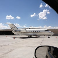 Photo taken at Atlantic Aviation ABQ by Christopher C. on 6/17/2013