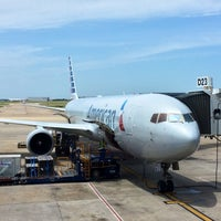 Photo taken at Gate D23 by Jackson R. on 5/9/2014