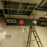 Photo taken at MTA Subway - South Ferry (1) by ♥Curtis R. on 11/17/2016