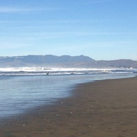 Photo taken at Ocean Beach by Holger L. on 1/19/2013