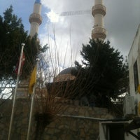 Photo taken at Gündoğan Merkez Camii by Harun E. on 1/18/2013