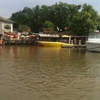 Photo taken at Chesapeake Inn Restaurant & Marina by Nina on 6/30/2013
