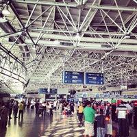 Photo taken at Aeroporto Internacional do Rio de Janeiro / Galeão (GIG) by Fernando A. on 6/7/2013