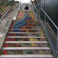 Photo taken at Hidden Garden Mosaic Steps by Kathe G. on 7/5/2016