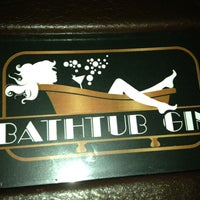 Photo taken at Bathtub Gin by Dave H. on 1/22/2013