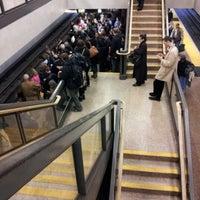 Photo taken at Lake Merritt BART Station by Amanda J. on 12/19/2012