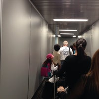 Photo taken at Gate D10 by Silvia S. on 5/10/2014