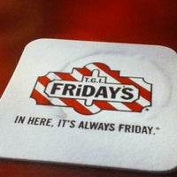 Photo taken at TGI Fridays by Marielle L. on 9/26/2012