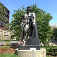 Photo taken at Naked Guy Statue by Ekaterina V. on 5/14/2013