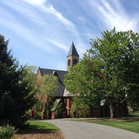 Photo taken at Sage Chapel by Ekaterina V. on 5/14/2013
