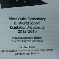 Photo taken at River Oaks Elementary School by lisa l. on 4/4/2013