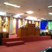 Photo taken at Gereja Tiberias Cawang Kencana by Grace G. on 5/19/2013
