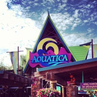 Photo taken at Aquatica Orlando by Luis on 11/27/2012