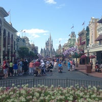 Photo taken at Main Street, U.S.A. by Greg L. on 4/23/2013