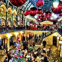 Photo taken at Covent Garden Market by Fahad J. on 12/15/2012