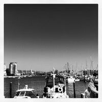 Photo taken at Dockside Restaurant by Hjalmar on 10/5/2012
