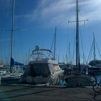Photo taken at Yacht Club by Nicolas R. on 11/1/2012